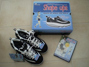Skechers, box and DVD
