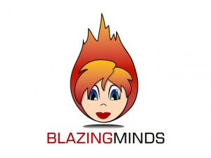 Blazing Minds Logo