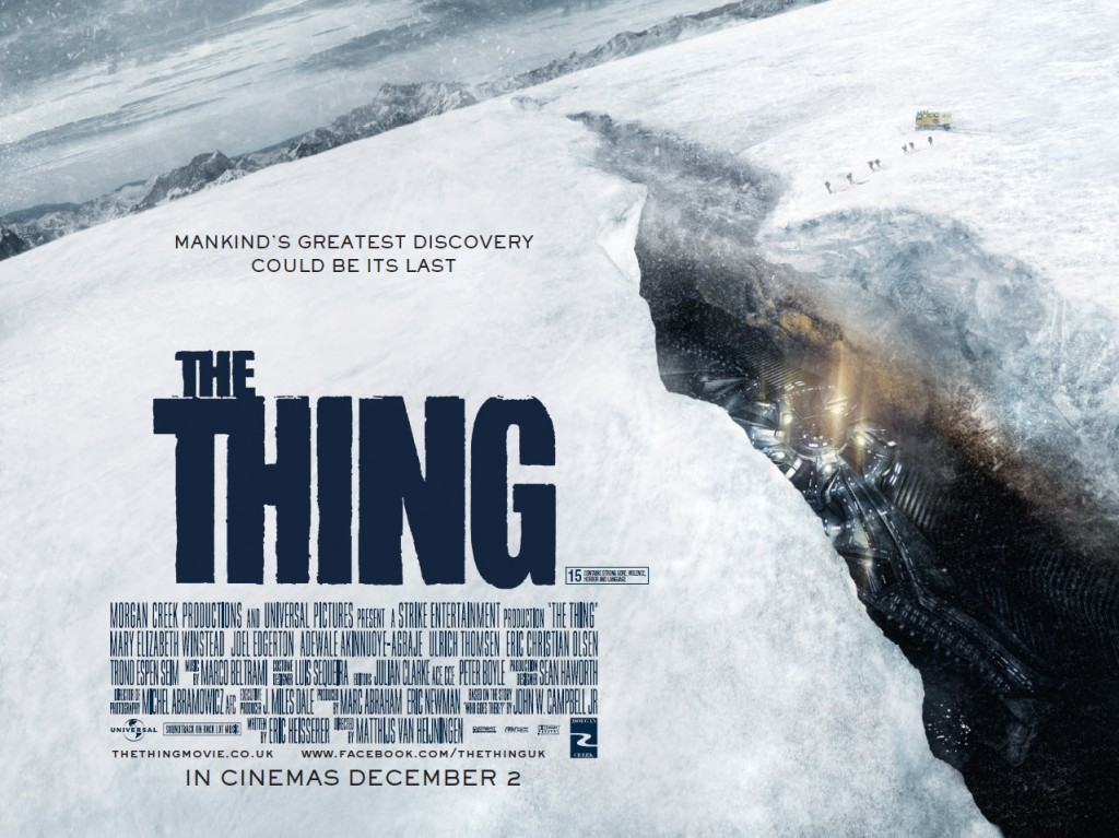 The Thing – Prequel Or Remake – Movie Review