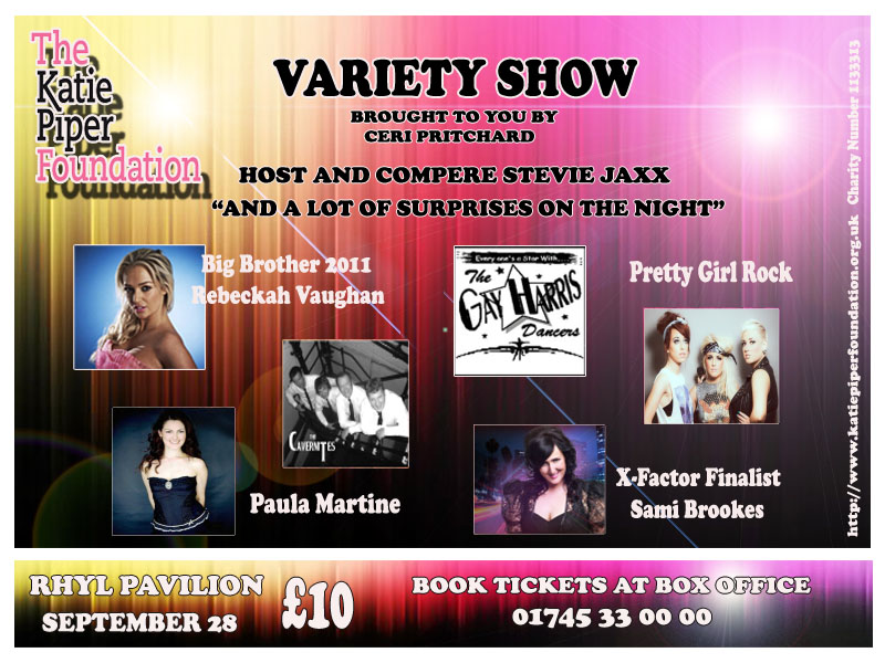 Katie Piper Charity Concert Coming Soon To The Pavilion Theatre Rhyl
