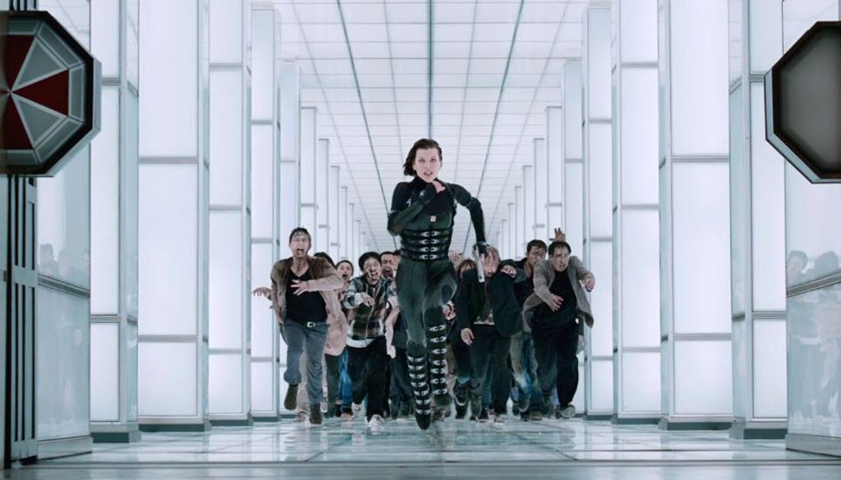 Resident Evil Retribution Run Alice