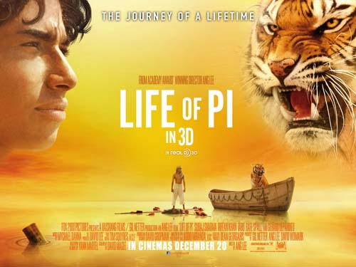 Life Of Pi - Top Rated Films 2012