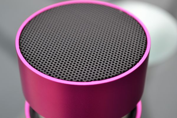BassBoomz (Speaker Close-up)