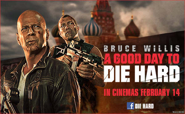Bruce Willis is Back as John McClane in A Good Day To Die Hard