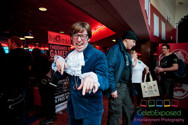 Austin Powers Cosplayer