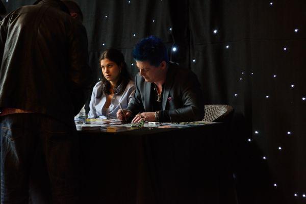 Manu Intiraymi Signing Autographs - SciFi Weekender 2013 - SFW4