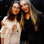 Karen Woodham and Virginia Hey