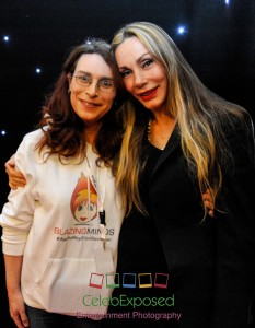 Award Winning Blogger Karen Woodham with Virginia Hey