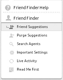 Pluggio Friend Finder