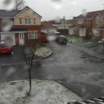 Prestatyn Snow! - Photo by Fi