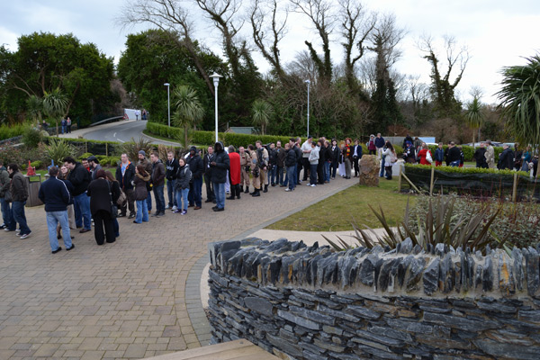 Photo of Sci-Fi Weekender 4 Queue for the Opening Ceremony by @BlazingMinds