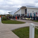 Photo of Sci-Fi Weekender Queue for the Opening Ceremony by @BlazingMinds