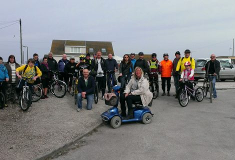 A Numb Bum, Stiff Legs and Knackered, But It Was A Charity Bike Ride