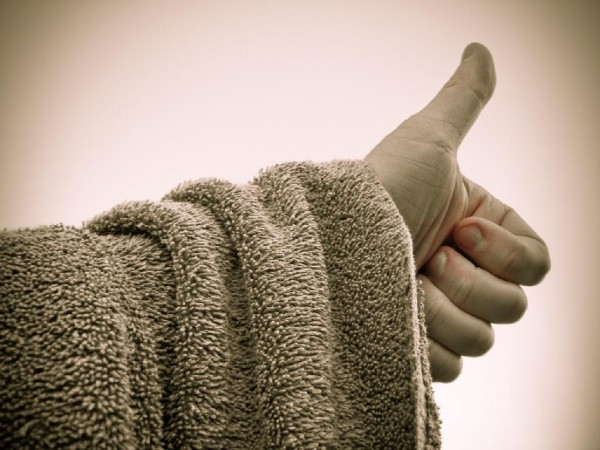 Thumbs Up - Happy Towel Day