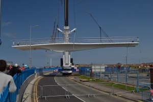 Rhy Harbour Bridge Over Road