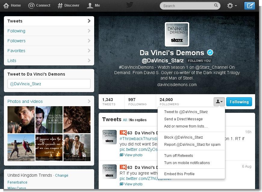 Vincis Demons on Twitter