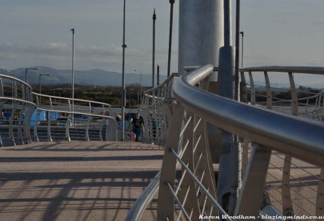 Pont y Ddraig, The New Cycle Bridge For Rhyl