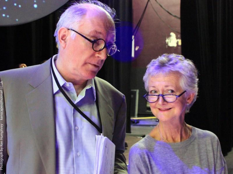 Simon Jones and Susan Sheridan