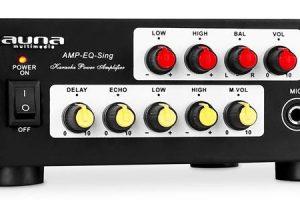 Auna Amp-EQ-Sing Karaoke PA Hifi Amplifier 400W System [Review]
