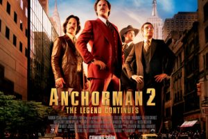 ANCHORMAN 2 BREAKING NEWS: Ron Burgundy gives you a real Moment Worth Paying For