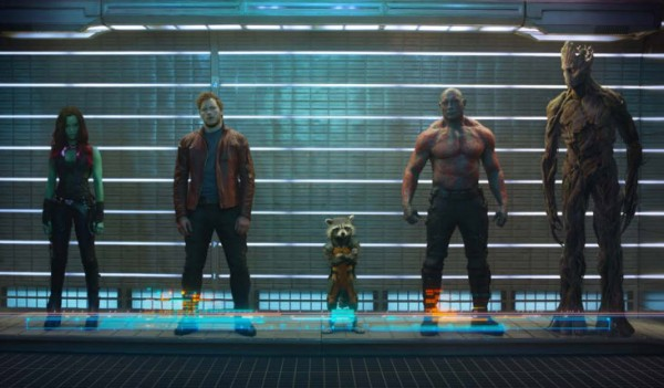 Guardians of the Galaxy Cast Shot