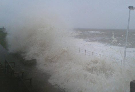 The week a tidal surge hits Rhyl and other parts of the country