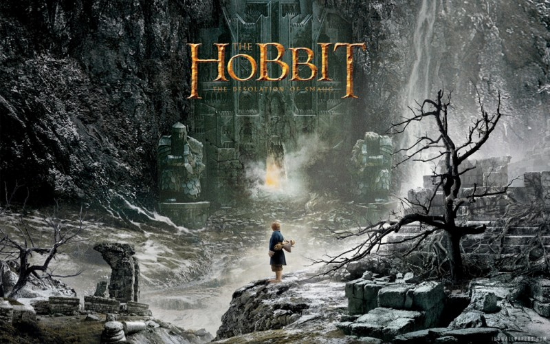 The Hobbit Desolation of Smaug - Poster