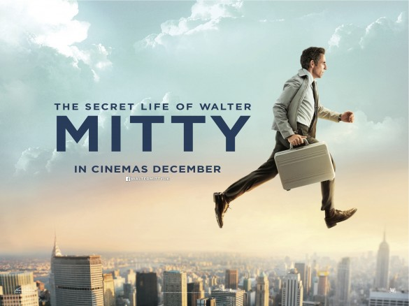 The Secret Life of Walter Mitty Teaser Quad Poster