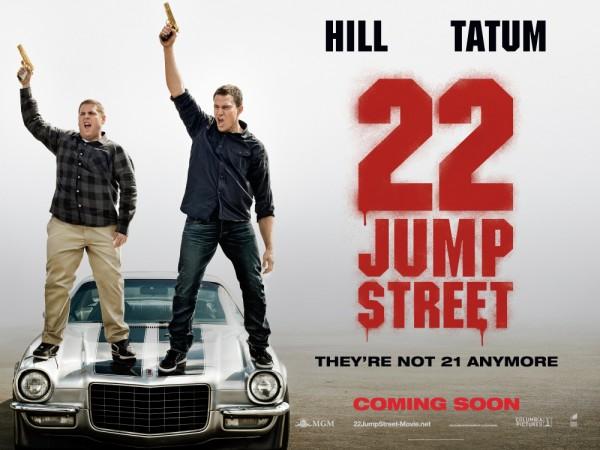 22 Jump Street New Poster