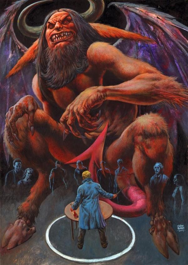 Glenn Fabry's 'Devil Without' Poster