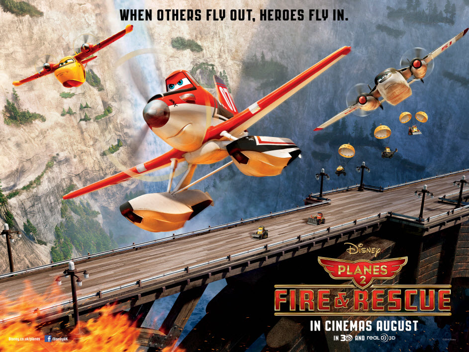 Planes 2: Fire and Rescue In Cinemas Official Trailer