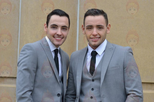 Richard and Adam - Proms on the Prom (Photo Karen Woodham)