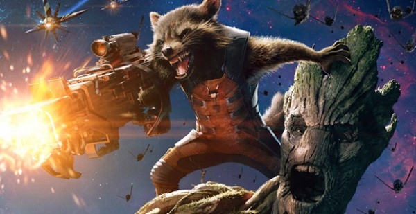 Rocket Raccoon and Groot Guardians of the Galaxy