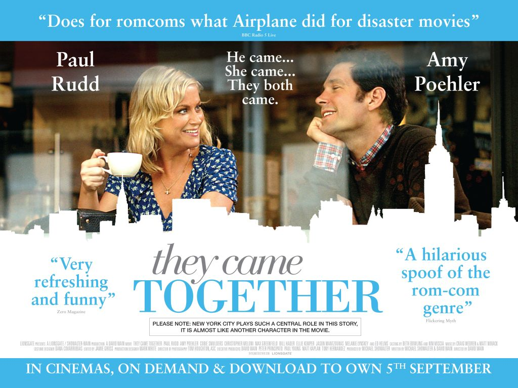 They Came Together – Brand New UK Trailer