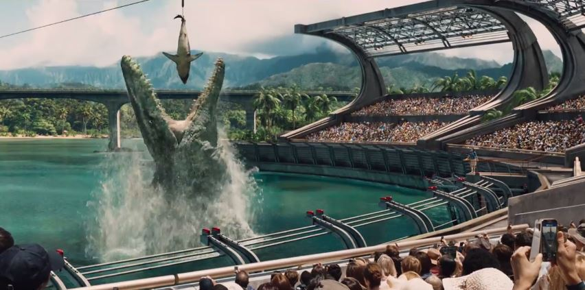Jurassic World in to the Mouths of Dinosaurs in IMAX 3D