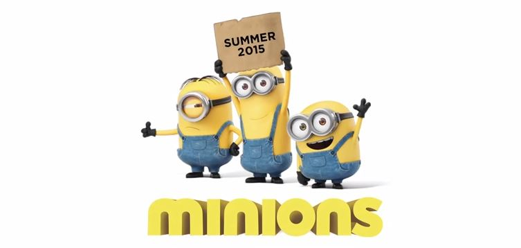 Minions – The Official Trailer is HERE!