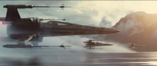 Star Wars VII Trailer Still