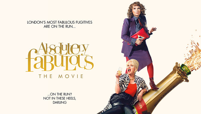 Absolutely Fabulous on the Big Screen Sweetie Darling – Review