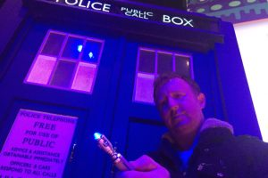 TARDIS Materialises in Prestatyn