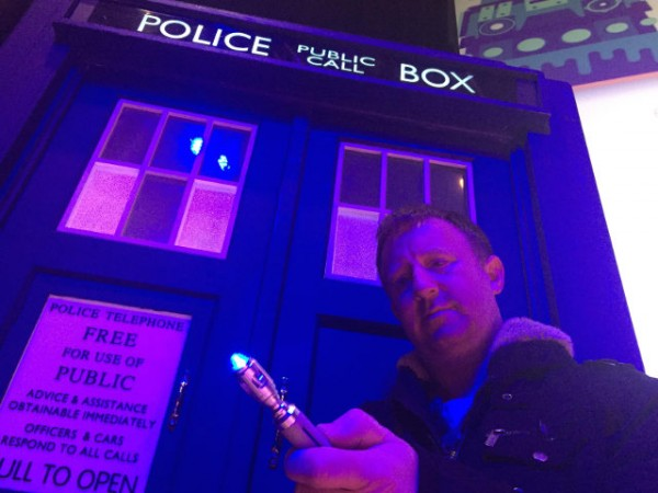 Phil Woods – Writer & Actor from Connah's Quay & Doctor Who Fan