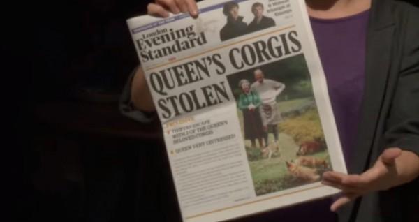 The Queens Corgis