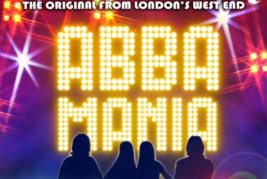 Abba Mania at the Rhyl Pavilion