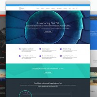 divi by Elegant Themes - screenshots