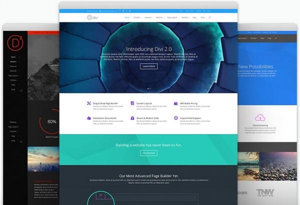 divi by Elegant Themes - screenshots