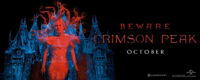 Crimson Peak First Look Trailer with Tom Hiddleston and Jessica Chastain