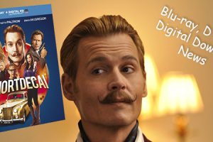 Mortdecai is charming his way on to Blu-Ray