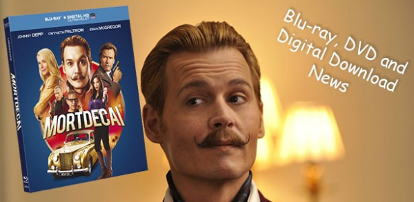 Mortdecai Blu-ray, DVD and Digital Download