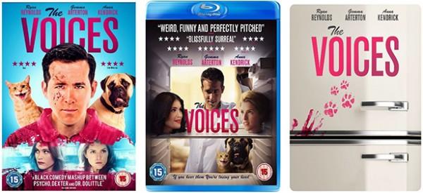 Voices DVD BluRay Steelbook