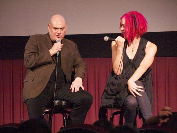 Wachowski Siblings Image credit https://www.flickr.com/photos/annaustin/