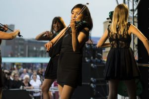 Proms on the Prom in Rhyl Rocked 2015